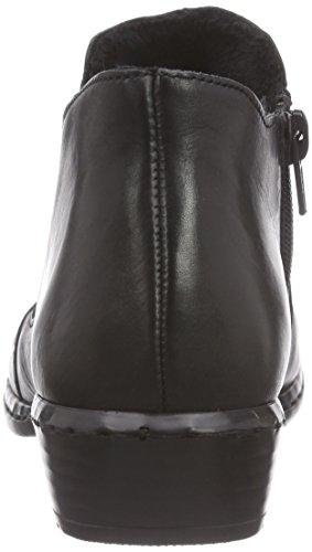 Rieker 52280, Bottes Classiques femme Noir (schwarz / 00)