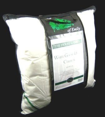 The House of Emily Hungarian Goose Down & Feather Continental Pillow 90% Down 10% Feather