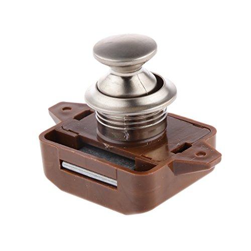 Generic Blocco Cassettiera File 26mm Scrivania Armadio Cam Serrature - Colore (1 File Cassettiera)