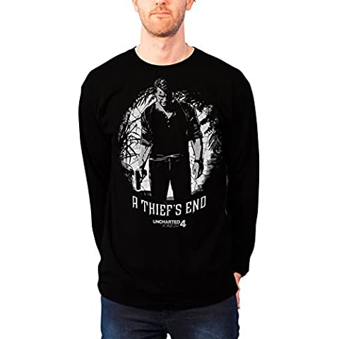 Officially Licensed Merchandise Uncharted 4 - A Thief´s End Sweatshirt (Black)
