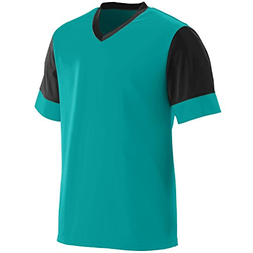Augusta Herren T-Shirt Mehrfarbig - Teal/Black