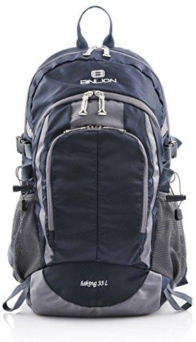 Binlion Hiking Backpack (Enamel Blue) Sport & Freizeit Notebook Taschen Business Laptop Taschen Laptop Rucksäcke Daypacks Schulranzen