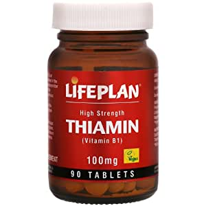 Lifeplan Thiamin (Vitamin B1) 100mg Tablets x90