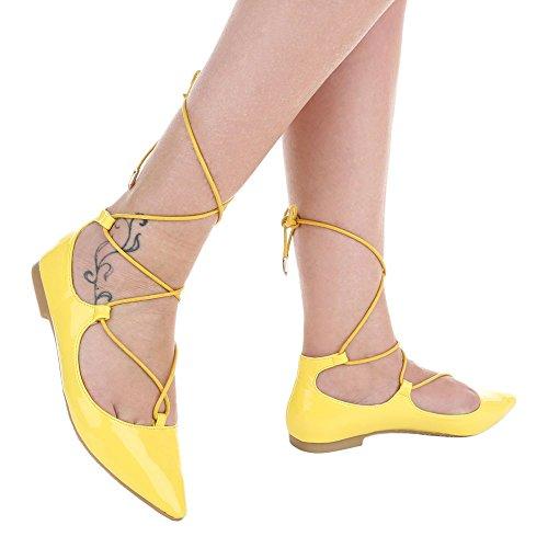 Ital-Design, Ballerine donna Gelb XY01