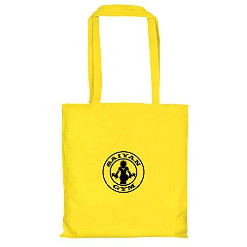 TEXLAB - Saiyan Gym - Stoffbeutel, gelb