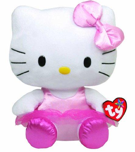 Peluche TY - Beanie Buddy - Hello Kitty Large Ballerina - cm 32. (cod. 90114)