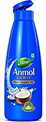 Dabur Anmol Gold Pure Coconut Oil, 175ml (Narrow Mouth)