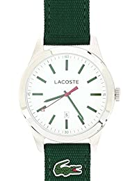 Lacoste - 2010777 - Men's Auckland Quartz Analogue Watch with a Green Watch Face and Strap