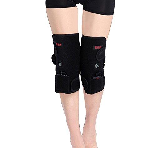 Die ältere Heizung kneepad warme alte kalte Beine Gemeinsame Physiotherapie ist für Männer und Frauen geeignet