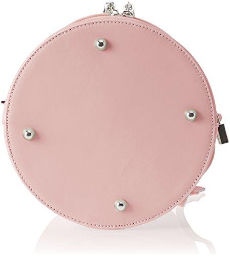 Chicca Borse 8638, Borsa a Spalla Donna, 20x24x20 cm (W x H x L) Rosa