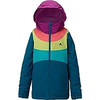 Burton Chaqueta rígida Jacket Snowboard para niña, niña, Hart Jacket, Jaded/Grapeseed/Georgia Peach/Everglade