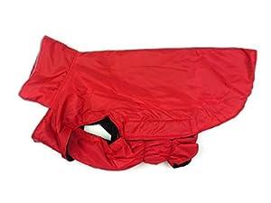 Kismaple Manteau de chien Veste Imperméable Polaire réfléchissante Doublé Chaud Animal Froid Hiver vêtements