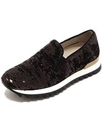 4242P sneaker UNO 8 UNO bronzo nero scarpa donna sneaker shoe woman [36] 1hsBH