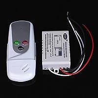 ROUHO Ac110V Wireless 1 Canal Encendido/Apagado Lámpara De Luz Interruptor De Control Remoto
