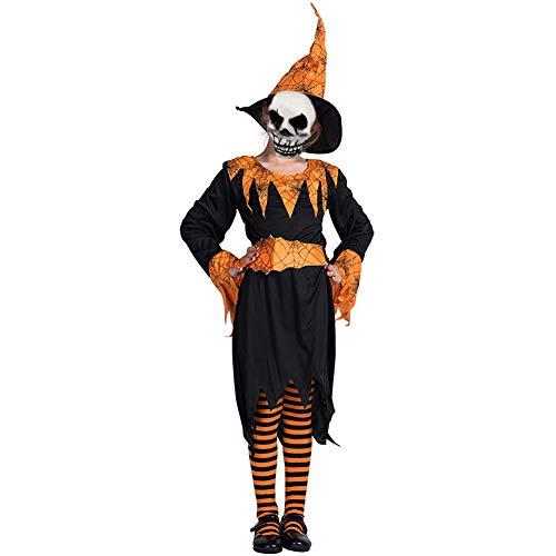 Unheimliche Teufel Kostüm - Halloween kostüm S.CHARMA Kostüme für Erwachsene Cosplay Unheimlich Kleidung Halloween-Set Performance-Kostüm Roter Teufel