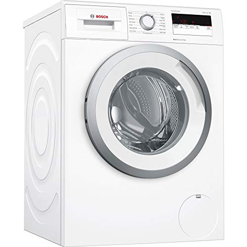 Bosch Series 4 WAN28108GB 8kg White Washing Machine with A+++-10% Energy Rating, 1400rpm Spin Speed and EcoSilence Drive