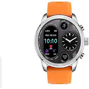 ATYBO Ip68 Impermeable Sport Reloj híbrido Inteligente Acero ...