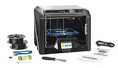 Dremel 3D- Drucker DigiLab 3D45 (für PLA/ Nylon/ Eco-ABS/ PETG, 50 Mikron Auflösung, im Karton)