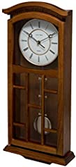 Idea Regalo - Fox and Simpson Kensington – Orologio a Pendolo, Legno, Rovere