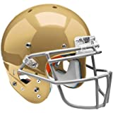 Schutt Sports Youth AiR XP Hybrid Football Helmet without Faceguard - 7990, L, Metallic South Bend Gold