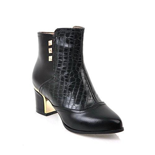Unknown 1to9mns02568 - Sandales Compensées Pour Femmes, Noir