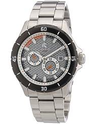 Carucci Watches Herren-Armbanduhr XL Analog Automatik Edelstahl CA2187ST-SL