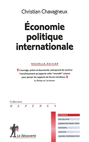 conomie politique internationale