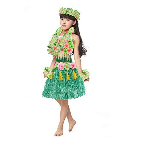 Kleinkind Kostüm Hula - flower205 Kleinkind Hawaiian Rock Hula Dance