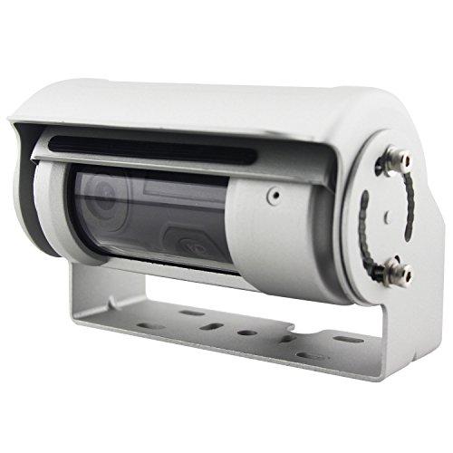 Caméra de recul filaire double optique à volet...