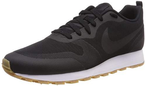 Nike MD Runner 2 19, Zapatillas de Running para Hombre, Negro Black/Anthracite/Gum Light Brown 001, 41 EU