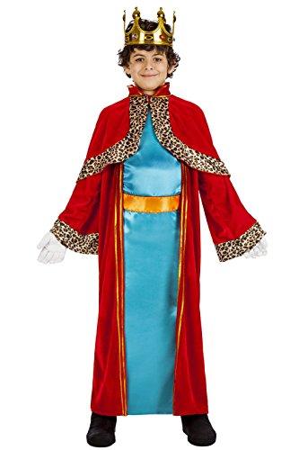 Imagen de disfraz rey mago melchor talla 5 6