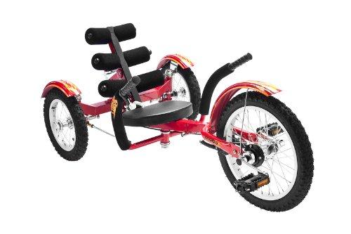 "MOBO Cruiser ""Mobito"" Liegefahrrad Kinderdreirad - Rot"
