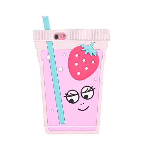 iPhone 6/ 6S (4.7 inches) Hülle,COOLKE 3D Fashion Klassische Karikatur weiche Silikon Shell Schutzhülle Hülle case cover für Apple iPhone 6/ 6S (4.7 inches) - 014 016