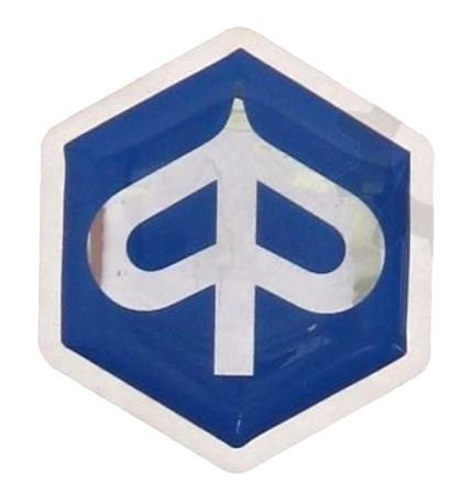 Price comparison product image PIAGGIO HORN COVER EMBLEM BADGE LOGO LABEL NEW 27 mm 1,06""