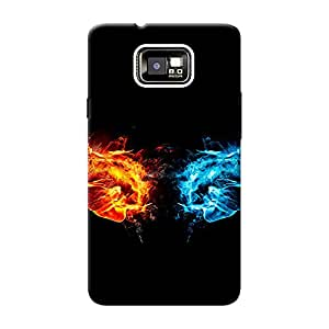 Mobile Back Cover For Samsung I9105 Galaxy S2 Plus (Printed Designer Case)