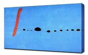 Joan Miro - Blue 2 - Reproduction d'art - Taille Du Cadre 100cm x 150cm - Image Sur Toile