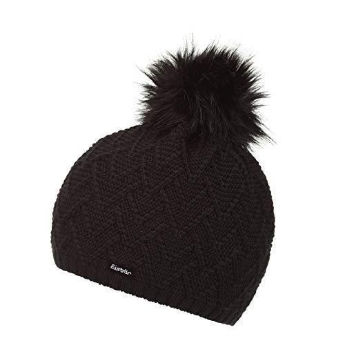 Eisbär Damen Isabella Lux Mütze, schwarz, One Size | 09008132532353
