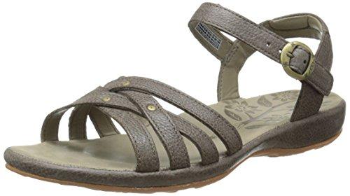 Keen City of Palms Sandals Pelle Sandalo (cascade brown)