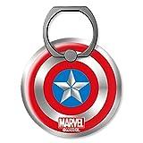 Marvel Avengers Capitán Shield Big Smart Anillo/Soporte de Anillo para teléfono Inteligente