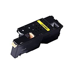 4Benefit Cyan Compatible Toner Cartridge Set for Dell 1250 1250c 1350cnw 1355cn 1355cnw Yellow