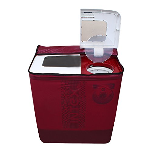Lithara Dark Pink Waterproof & Dustproof washing Machine Cover For panasonic Semi Automatic Top Load -All size model  available at amazon for Rs.359