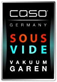 Caso 1405 FastVac 4000 Gewerbevakuumierer, regulierbare Vakuumstärke (f. weiche Lebensmittel), Beutel und Rollen bis 40cm Breite, starke Vakuumpumpe 20L/Minute - 2