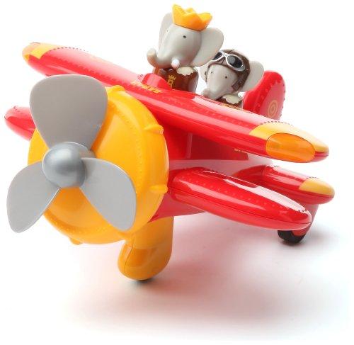 lansay-16136-jeu-educatif-premier-age-mon-avion-acrobat-babar