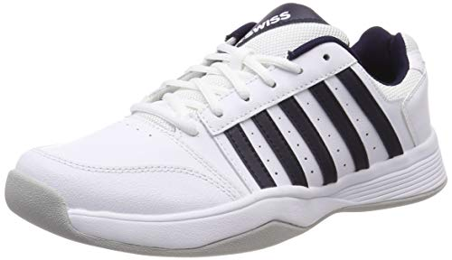 K-Swiss Performance Herren COURT SMASH CARPET-MAGNET/WHITE/HIRS-M Tennisschuhe, Weiß, 8.5 000070584), 42.5 EU