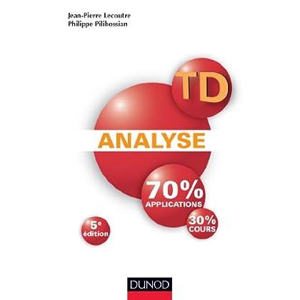 TD Analyse - 5ème édition