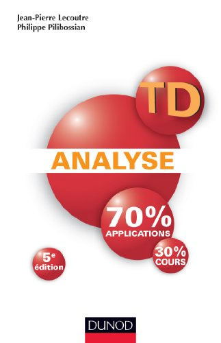 TD Analyse - 5me dition