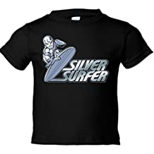 Camiseta niño Silver Surfer