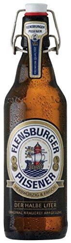 flensburger bier Flensburger Pilsener - Deutsches Bier 4,8% Vol. - 0,5l inkl. Pfand