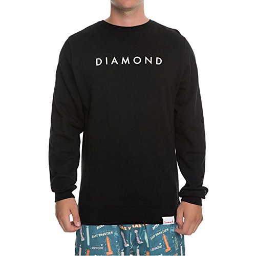 Diamond Supply Co. Men's Futura Crewneck Sweatshirt Black 2XL