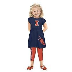 NCAA Illinois Illini Toddler Play Set, 3 Tall, Navy